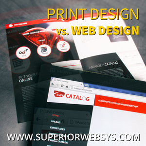 Web Design vs. Print Design